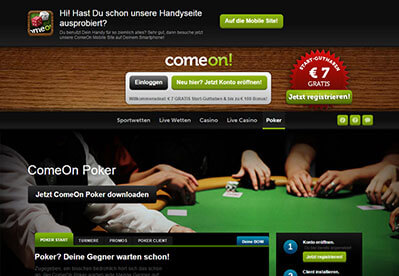 ComeOn Online Casino Review