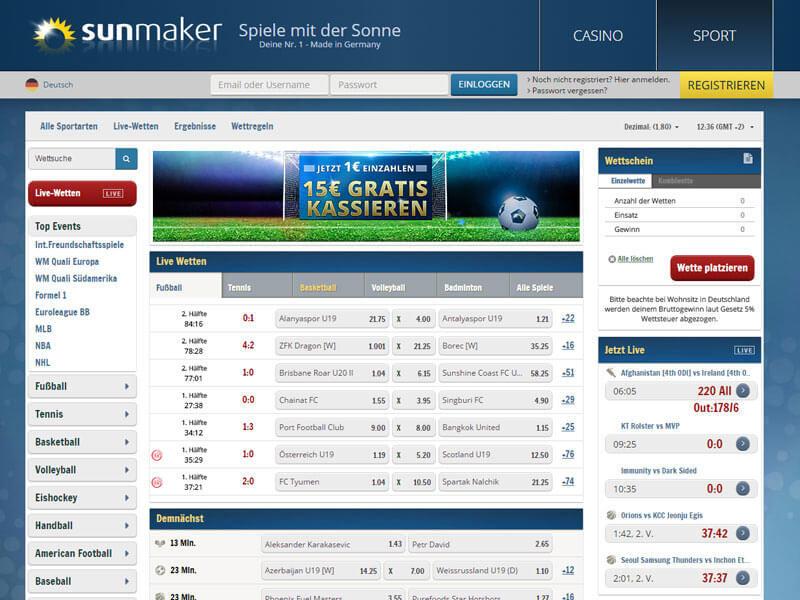 Sunmaker Online Casino Erfahrung