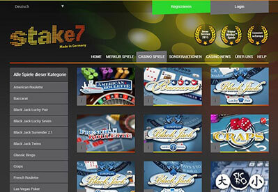 Stake7 Casino Review