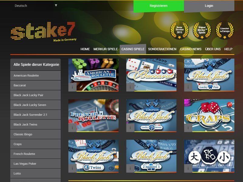 Stake7 Casino App