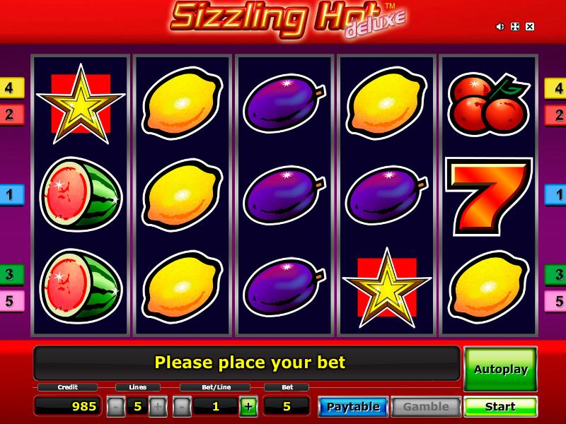 Sizzling Hot Spielen Kostenlos Online