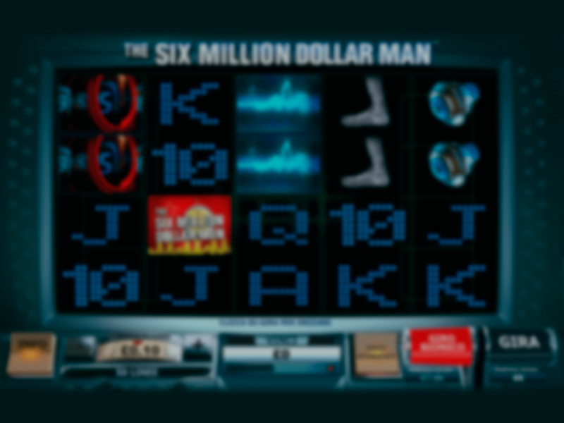 The Six Million Dollar Man Spielautomat kostenlos online spielen